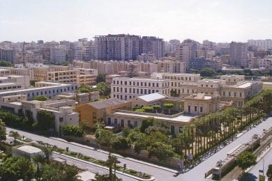 Το ελληνικό τετράγωνο της Αλεξάνδρειας (Φωτο: αρχείο ελληνικής κοινότητας).