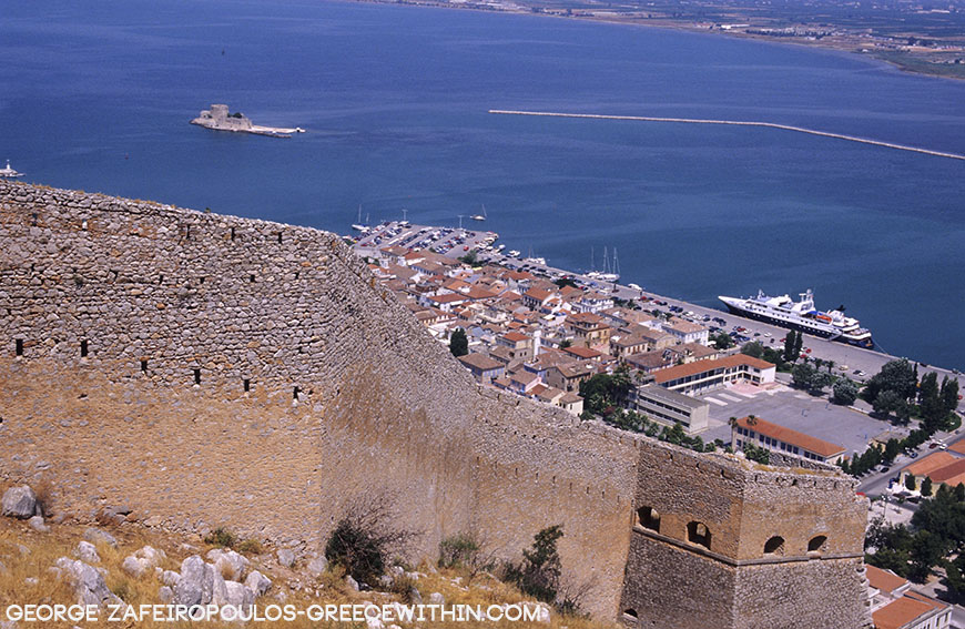 Bourtzi, the trademark of Nafplio