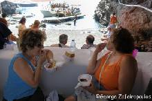 Tomato croquettes are offered at every feast in Santorini.