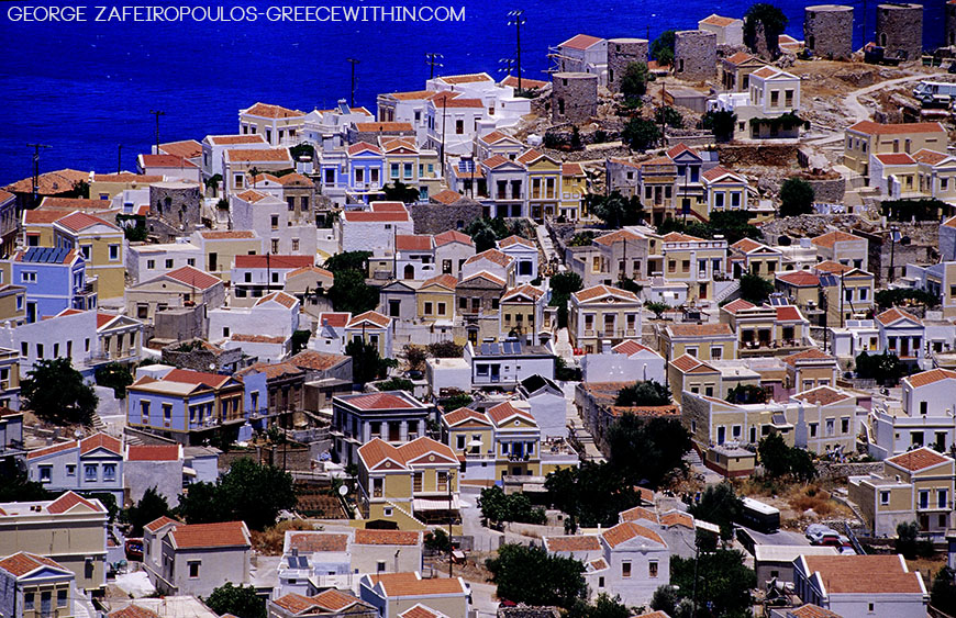 Symi has about 3,000 listed and well-preserved houses.