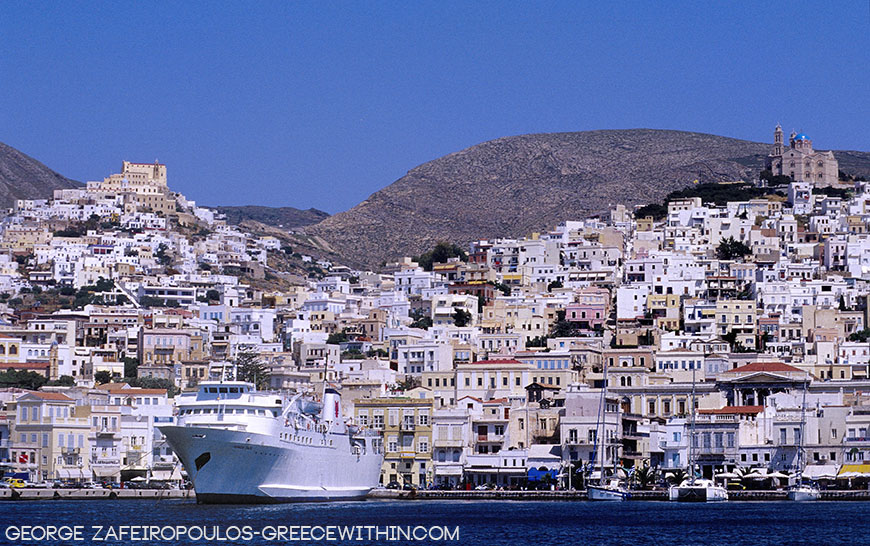 Syros, the Queen of Cyclades and delights.