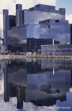The buildings of the Docklands have a usable area of 2 million square-meters.