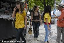 The clothing preferences of Albanian women are not much different from those of Greek women.